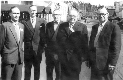 Neljä yhdistyksen puheenjohtajaa
